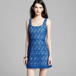 NWT French Connection Fast Wilma Crochet Dress